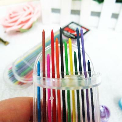 2.0mm 2B Colored Pencil Lead 2mm Mechanical Clutch Refill Holder