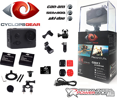 NEW Can Am Cyclops Gear CGX3 Actioncam Action Sports Adventure Motorsport Camera