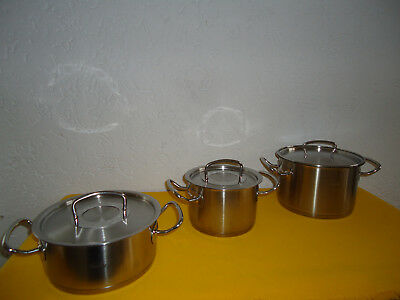 Fissler Original Profi Collection Topfset Töpfe Induktion Eur 151