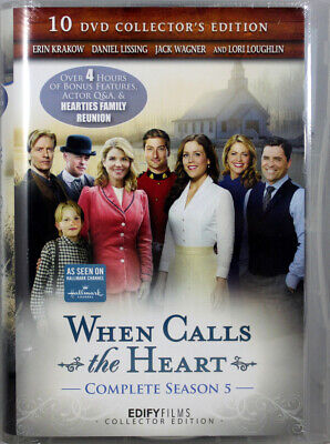 When Calls The Heart Complete Season 5 – 10 DVD Collector's Edition NEW DVDs