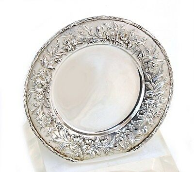 S. Kirk & Son Inc Sterling REPOUSSE #128 Bread & Butter Plates