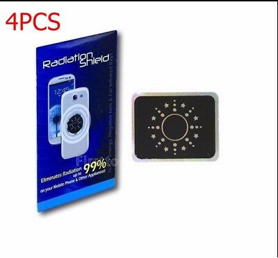 4PCS ANTI-RADIATION PROTECTION EMF Shield For Cell Phone Reduce Radiation  99% US