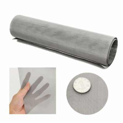 10/100/500 Mesh Stainless Steel Filtration Wire Woven Cloth Screen Filter Sheet