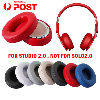 Soft Replacement Ear Pads for Beats by Dr. Dre Studio 2.0 Wired & Wireless AU