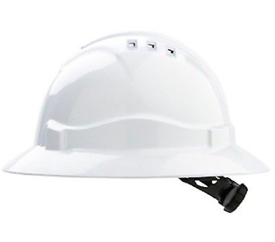 Pro Safety Wide brim FULL ROUND HARD HAT || AUTHORISED SELLER