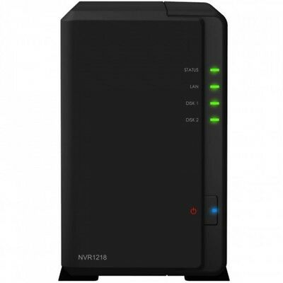 SYNOLOGY NVR1218 Network Video Recorder 2bay 12 channel