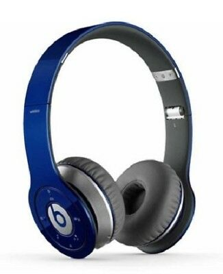 Beats by Dr. Dre - Solo HD On-Ear Headphones - Drenched in Blue NEW NIB