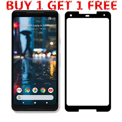 2PACK Luxury Premium Tempered Glass Screen Protector Film Fr Google Pixel 2/2XL