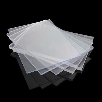 2/3/4mm Variety Acrylic Perspex Sheet Cut to Size Panel Plastic Satin Glos