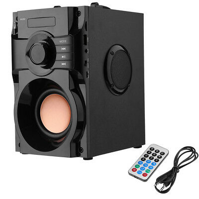 Stereo Subwoofer Wireless Bluetooth Super Bass HIFI USB FM Radio MP3 Speakers
