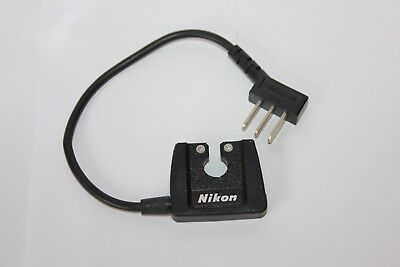 Genuine NIKON SC-4 Ready Light FLASH SYNC CORD Adapter for F2 Camera