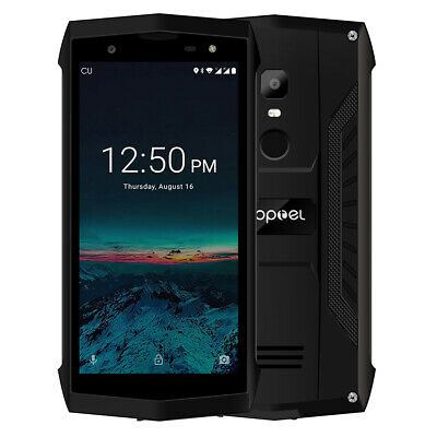 5.0''POPTEL P8 4G LTE Rugged SmartPhone IP68 16GB 5+8MP 3750mAh Android 8.1 P9X3