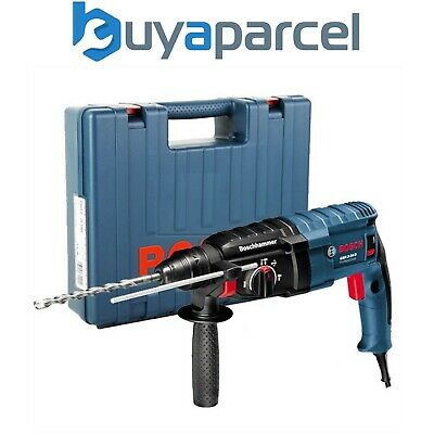 Bosch GBH2-24D 240v Sds Plus Bohrhammer 790w GBH224D - inklusive Hülle