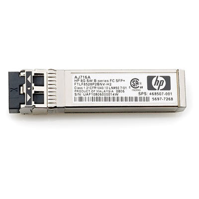Hewlett Packard Enterprise 16Gb SW SFP+ 4-pack Fiber optic 16000Mbit/s SFP+ netw