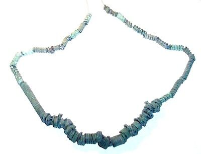 Late Bronze Age / Iron Age bronze Beads     Necklace.
