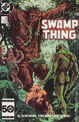 Swamp Thing (2nd Series) #47 1986 FN/VF 7.0 Stock Image