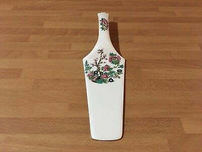 vintage bone china cake slice / pie server china rose design made in england