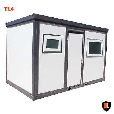 HARDLIFE OFFICE CABIN WITH TOILET AND SHOWER - Portable Mini House