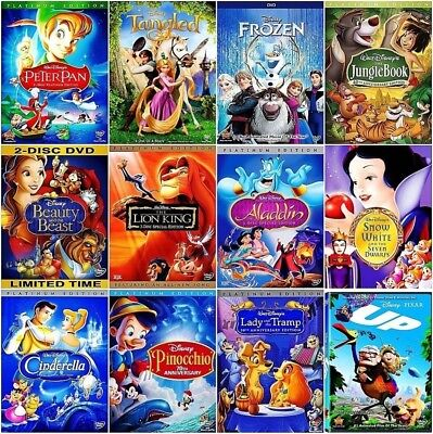 Lot of 6 Disney DVDs: Choose your Lot from our list.