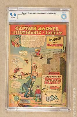 Captain Marvel and the Lts. of Safety #2 1950 CBCS 9.6