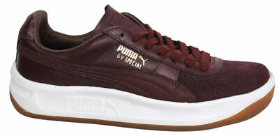 premium selection 1b4dd c58f8 PUMA GV SPECIAL Exotic Burgundy Leather Mens Tennis Shoes Trainers 357911  04 D46