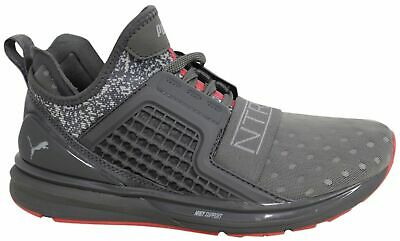 d54e564d9cc Puma x Staple Ignite Limitless Lace Up Grey Textile Mens Trainers 363202 02  D30