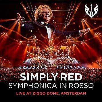 Simply Red - Symphonica In Rosso (Live At Ziggo Dome Amsterdam) (NEW CD+DVD)