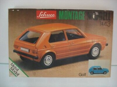 Schuco Montage Modell VW Golf   Made in Western Germany