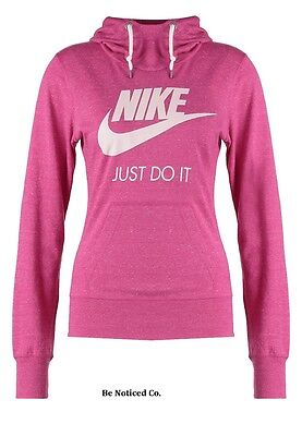 a155aa5c30bf Nike NSW Femmes Vintage Capuche XS Hyper Rose Pull-Over Décontracté