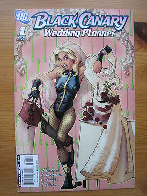 BLACK CANARY : WEDDING PLANNER 1. ONE-SHOT by TORRES & FERGUSON. DC.2007