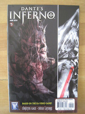 DANTE'S INFERNO  5  by GAGE & LATORRE. BASED ON THE VIDEO GAME. WILDSTORM. 2010