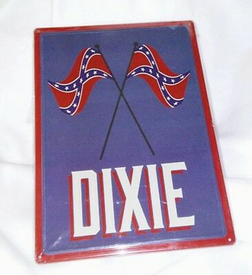 Dixie Metal Sign NEW