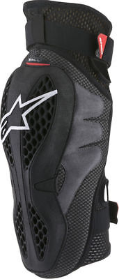 Alpinestars 2018 Adult Sequence Knee Guards Protector - Black/Red - All Sizes