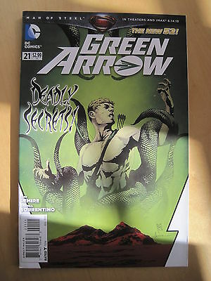 Green Arrow  21.  Dc The New 52. 2013