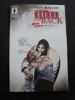 SIN CITY : HELL & BACK # 6 ( of 9 ) by FRANK MILLER. DH.1999