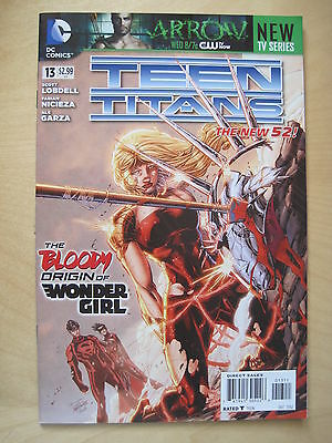 TEEN TITANS   # 13. 1st  PRINT. THE NEW 52 !  DC.2012