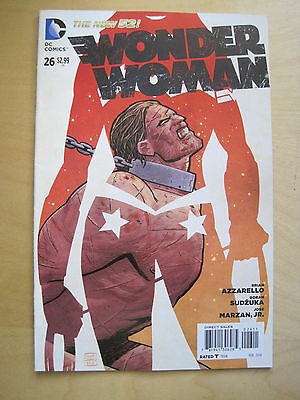 WONDER WOMAN  # 26.1st PRINT. AZZARELLO,SUDZUKA.THE NEW 52.GREAT COVER ! DC.2014