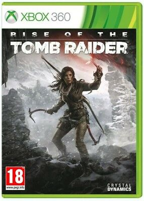 Rise of the Tomb Raider for Xbox 360 and Xbox One Brand New Factory Sealed