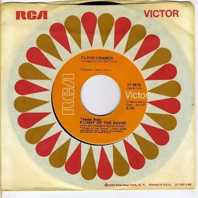 MOVIE THEME - Floyd Cramer - Theme from Flight Of The Doves    (M-)