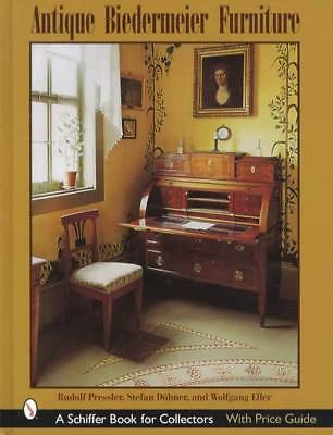 19th C. Biedermeier Furniture Collector Reference w Prices, Pics, Styles, ID