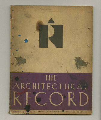 1933 H T Lindeberg Special Issue ARCHITECTURAL RECORD American Country House Era
