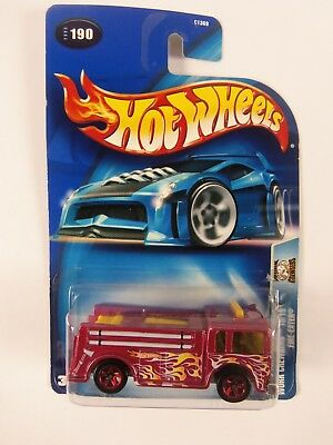 2003 Hot Wheels Work Crewsers Fire-Eater # 190 10/10
