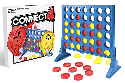 Connect 4 - The Classic Family Fun Board Game by Hasbro Gaming