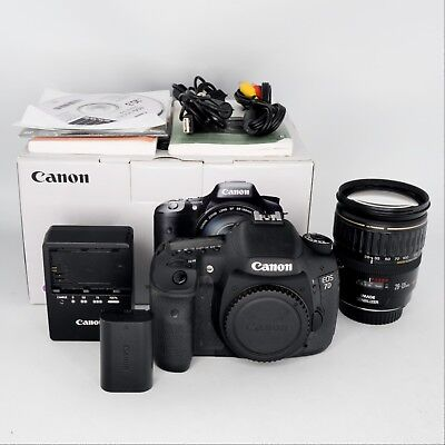 Canon EOS 7D 18.0MP Digital SLR Camera - (Kit w/ IS 28-135mm Lens)