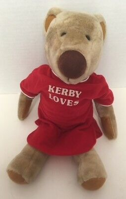 1980s Avon KERBY BEAR Loves Plush Brown Gallery Originals Nightshirt Vintage