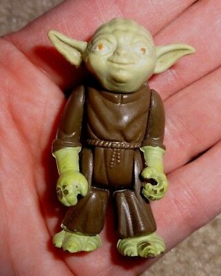 "Vintage 1980 Star Wars Yoda Figure 2"" Tall"