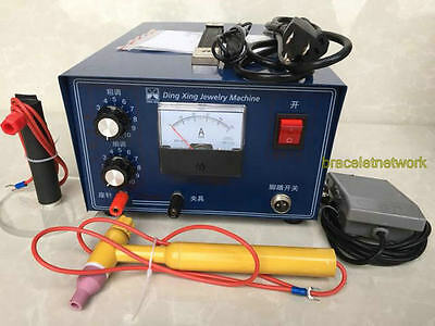 Pulse Sparkle Spot Welder 400W Gold Silver Platinum Jewelry Welding Machine