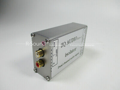 Permalloy Dual Channel Audio Signal Isolator Audio Filter RCA 3.5mm Input