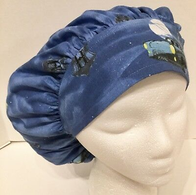 ba1e0da7e66 Harry Potter Print Size Large Medical Bouffant Scrub Cap Surgery Hat