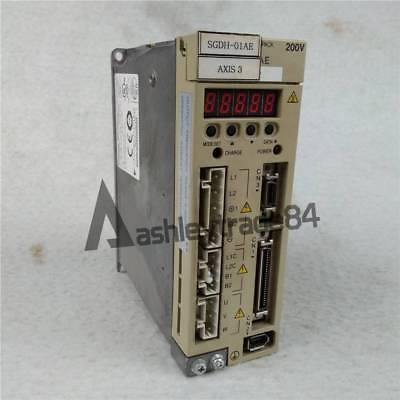 Used 1PCS YASKAWA SGDH-01AE Servo Drives Tested